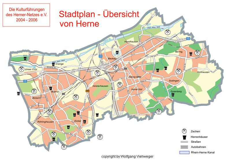 Herne Karte Stadtteile.Wolfgang Viehweger Buch 9